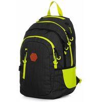 Tornistry i plecaki szkolne, Karton P+P plecak szkolny OXY Campus black