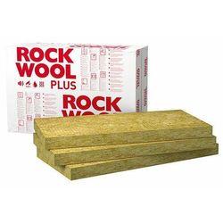 Wełna mineralna ROCKWOOL Rockmin Plus 50mm 0,037 elewacyjna dach podloga paczka