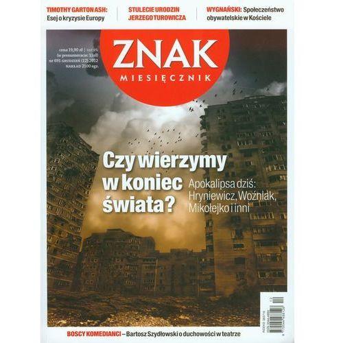 Gazety i czasopisma, Znak nr 691 12/2012 (opr. miękka)