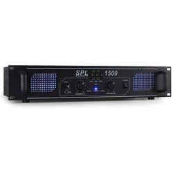 Skytec SPL-1500-EQ wzmacniacz HiFi - PA 48 cm – efekt LED