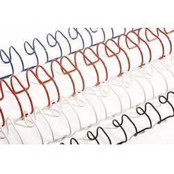 Grzbiety do bindowania drutowe, białe, 11 mm, 100 sztuk, oprawa 66-80 kartek - Super Ceny - Rabaty - Autoryzowana dystrybucja - Szybka dostawa - Hurt