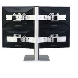 Uchwyt na cztery monitory