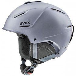 UVEX kask narciarski P1us 2.0 - strato met mat (52-55 cm)