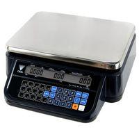 Wagi sklepowe, Waga kalkulacyjna bez wysięgnika 6/15 kg DIGI DS-781BR RS BK