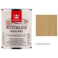 TIKKURILA NOSTALGIA WOOD WAX- wosk do drewna, champinion, 0.9l l