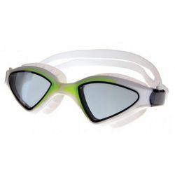 Okulary pływackie SPOKEY Abramis Biało-zielony