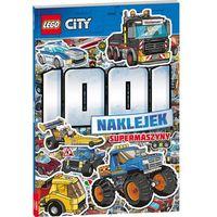 Książki dla dzieci, LEGO CITY 1001 naklejek Supermaszyny