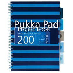 Kołozeszyt z przekładkami Pukka Pad Navy A4 100 kartkowy niebieski