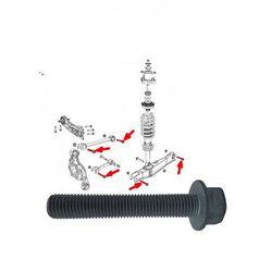 Śruba mocująca wahacz tylnego zawieszenia Lancia Flavia