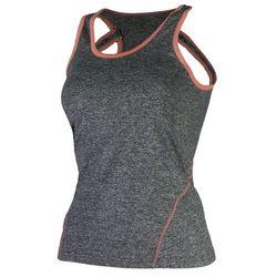 ROGELLI ROMILDA damska koszulka sportowa/ top 050.408, kolor: szary Rozmiar: XL,rogelli-romilda-050-408-szary