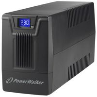 UPSy, PowerWalker Zasilacz awaryjny UPS POWERWALKER LINE-INTERACTIVE 600VA SCL 2X PL 230V RJ11/45 IN/OUT, USB, LCD