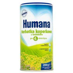 HUMANA 200g Herbatka koperkowa z kminkiem Po 4 miesiącu