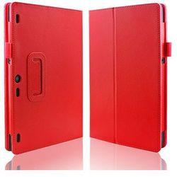Czerwone etui typu Stand Cover Lenovo Tab 2 A10-70 - Czerwony