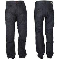 Spodnie motocyklowe męskie, Męskie jeansowe spodnie motocyklowe W-TEC Roadsign, Czarny, 42/XXL