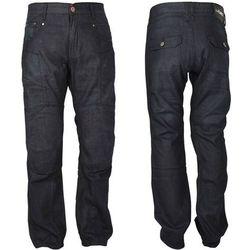 Męskie jeansowe spodnie motocyklowe W-TEC Roadsign, Czarny, 42/XXL