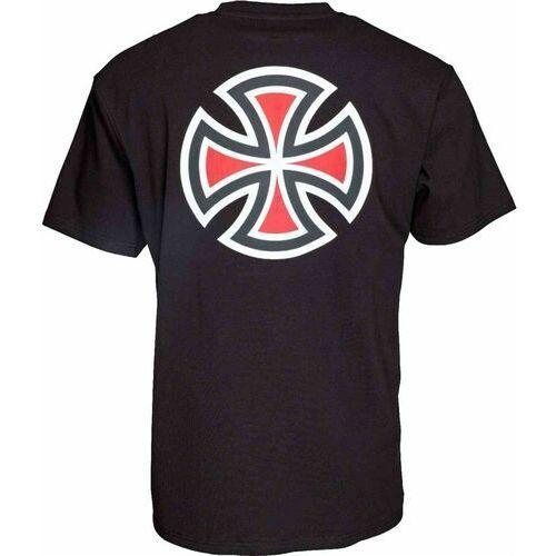T-shirty męskie, koszulka INDEPENDENT - Bar Cross Black (BLACK) rozmiar: S