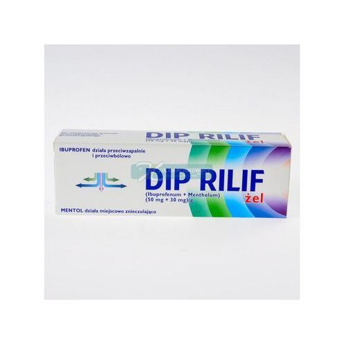 Żele i maści przeciwbólowe, Dip Rilif zel x 50g