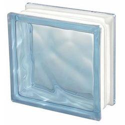 Pustak szklany Seves barwiony w masie niebieski