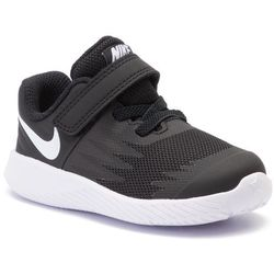 Buty NIKE - Star Runner (TDV) 907255 001 Black/White Volt