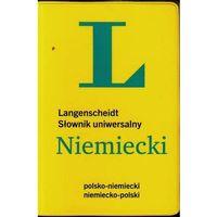 Książki do nauki języka, Słownik uniwersalny polsko-niemiecki, niemiecko-polski (rok 2014) (opr. miękka)
