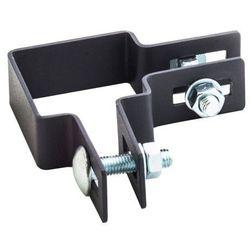 Obejma narożna Polbram Steel Group 5 x 5 cm czarny ocynk
