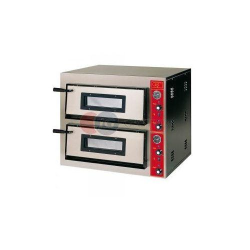 Piece i płyty grzejne gastronomiczne, Piec do pizzy 2-komorowy 2x4x30cm E-line GGF 781502