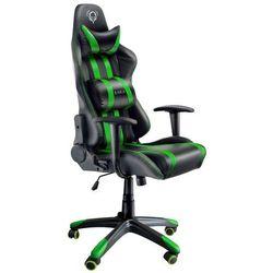 Fotel DIABLO X-One Czarno-zielony + Zamów z DOSTAWĄ JUTRO! + DARMOWY TRANSPORT!