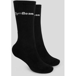 GymBeam Skarpety 3/4 Socks 3Pack Black