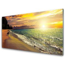 Panel Kuchenny Słońce Plaża Morze Krajobraz