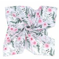 Pieluchy muślinowe, Otulacz, pieluszka muślinowa 120x120 cm + gratis Różany Ogród - Mamo-Tato