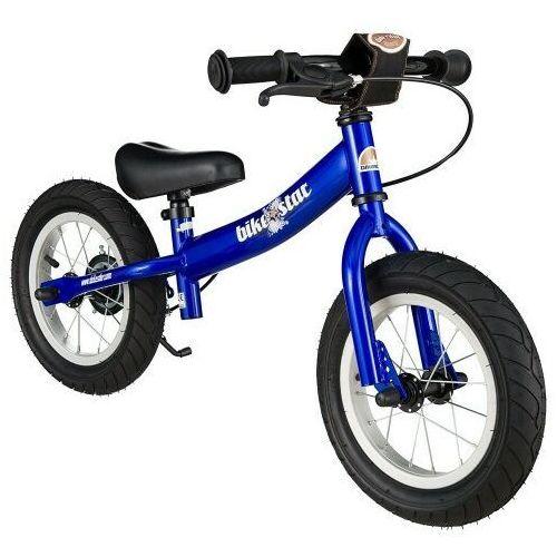 """Rowerki biegowe, Rowerek biegowy 12"""" XL BIKESTAR GERMANY sport niebieski"""