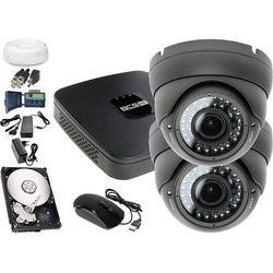 Zestaw do monitoringu: Rejestrator BCS-XVR0401E, 2x Kamera LV-AL40HVD, 1TB, akcesoria