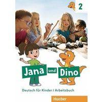 Książki do nauki języka, Jana und Dino 2 AB HUEBER - Manuela Georgiakaki, Michael Priesteroth (opr. broszurowa)