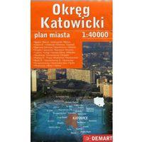 Przewodniki turystyczne, Okręg Katowicki 1: 40 000 DEMART (opr. kartonowa)