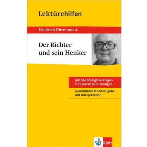 Pozostałe książki, Lektürehilfen Friedrich Dürrenmatt 'Der Richter und sein Henker' Dürrenmatt, Friedrich