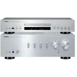 Yamaha A-S301 (srebrny) + CD-S300 (srebrny)