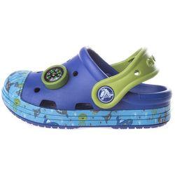Crocs Crocs Bump It Sea Life Clog dziecięce Niebieski 23-24 Przy zakupie powyżej 150 zł darmowa dostawa.