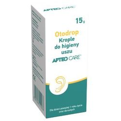 OTODROP Krople do uszu Apteo Care 15g