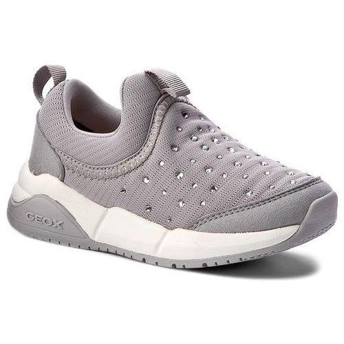 Półbuty i trzewiki dziecięce, Sneakersy GEOX - J Hideaki G. C J721XC 011AU C1006 Grey