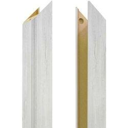 Baza ościeżnicy regulowana 80-95 mm lewa do drzwi bezprzylgowych dąb silver