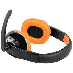 Natec Kingfisher (pomarańczowy) + mikrofon - produkt w magazynie - szybka wysyłka!