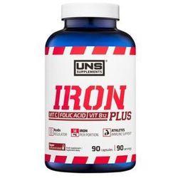 Witaminy UNS Iron Plus 90 kaps
