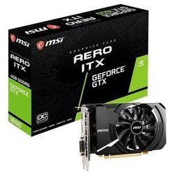 MSI Karta graficzna GTX 1650 D6 AERO ITX OC 4GB 128BIT GDDR6 HDMI/DP