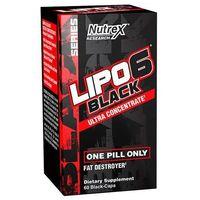 Redukcja tkanki tłuszczowej, Spalacz tłuszczu NUTREX Lipo 6 black UC 60kaps Najlepszy produkt Najlepszy produkt tylko u nas!