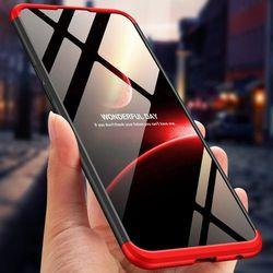 GKK 360 Protection Case etui na całą obudowę przód + tył Oppo AX7 czarno-czerwony