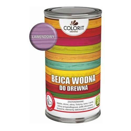Podkłady i grunty, Bejca wodna Colorit Drewno lawendowa 0,5 l