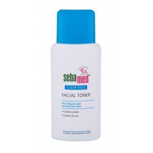Toniki do demakijażu, SebaMed Clear Face Facial Toner toniki 150 ml dla kobiet