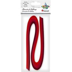 Akcesoria do quillingu Titanum, paski 6mm - czerwone (307814)