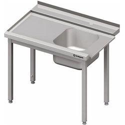 Stół załadowczy lewy bez półki do zmywarki kapturowej Silanos 1200x740x880 mm | STALGAST, 982397120