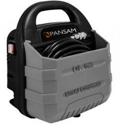 Pansam kompresor bezzbiornikowy 1,1kw, 9 szt. akcesorów promocja (-69%)